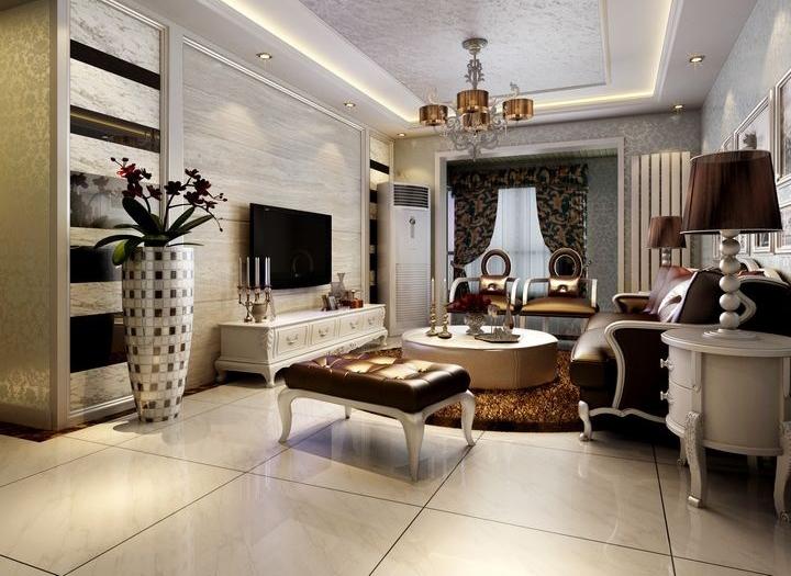 Phòng khách tân cổ điển đẹp và ấn tượng