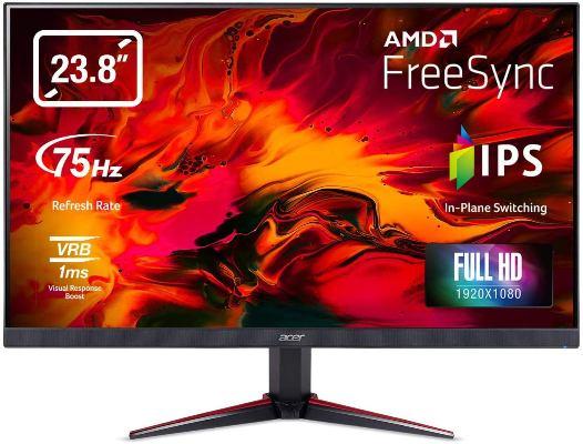 Acer Nitro VG240YB 23.8 Inch Full HD IPS Monitor Under 15000