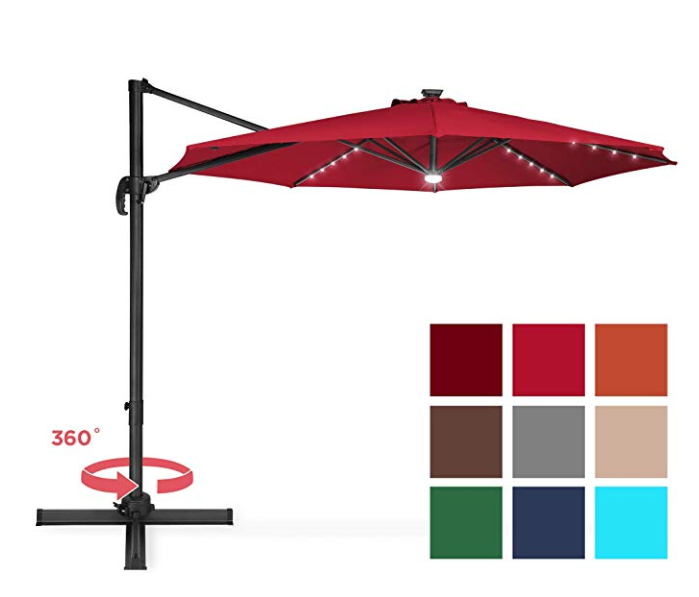Top 6 Cantilever Patio Backyard Umbrellas For 2020 The Jerusalem Post