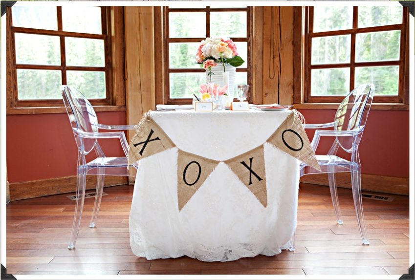 Reception Decor The Sweetheart Table And The Head Table