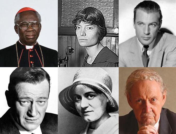 50 người trở lại Công giáo: Những thành viên mới trứ danh của Giáo hội trong Thế kỷ trước