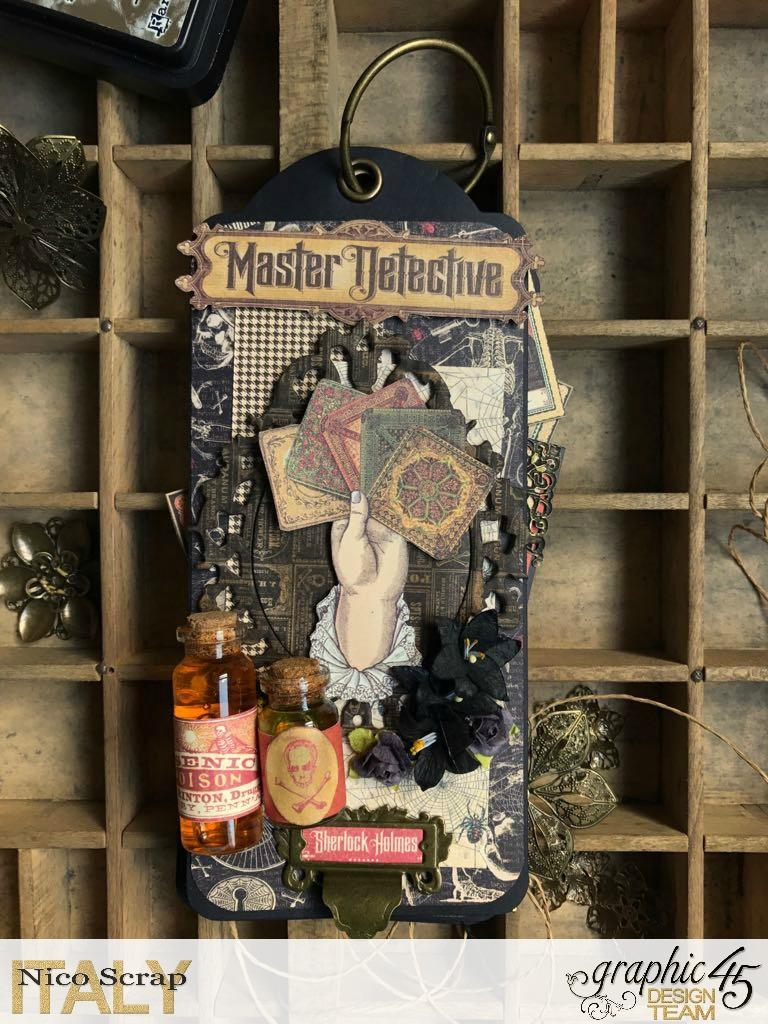 album of curiosities, master detective, photo 1, by Nico Scrap, Product by Graphic 45..jpg