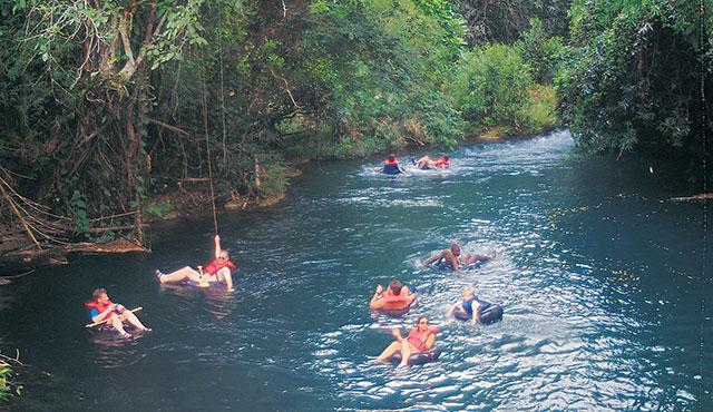 Jungle River Tubing – Belize | Princess Cruises