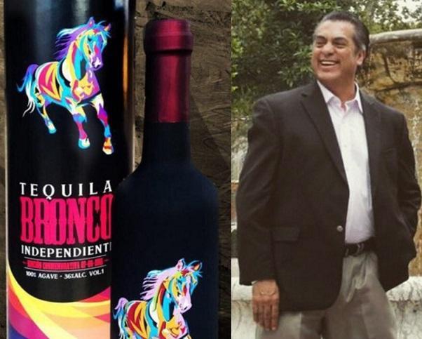 Resultado de imagen para como se llama el tequila y el bronco