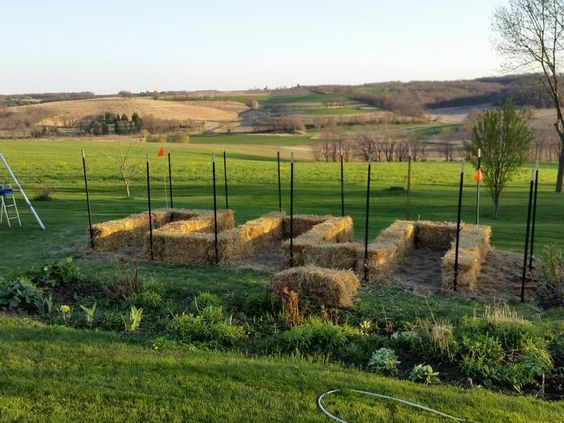 gardening doesnt have to be a chore with a straw bale garden the amount of labor needed is significantly reduced and the raised height makes it much - Straw Bale Garden