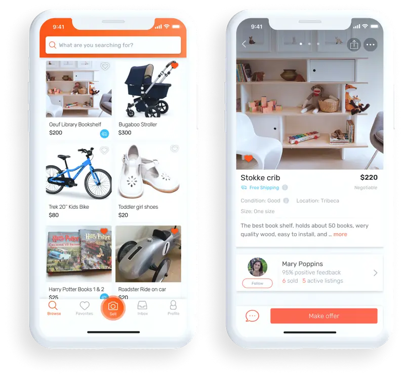 Markid devevolment - buy and sell marketplace app
