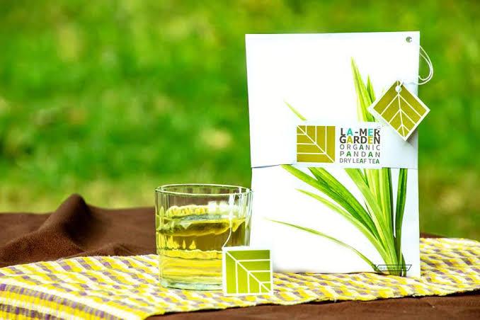 3. LA-MER GARDEN Pandan Organic Tea Herbs
