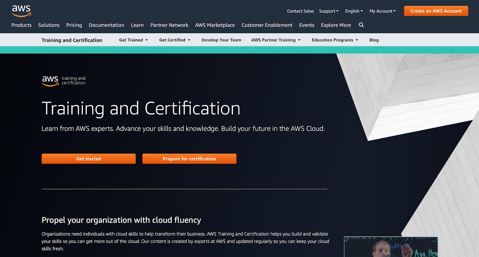 Certyfikacja Amazon Web Services