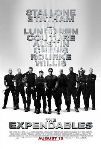 Sylvester Stallone, Arnold Schwarzenegger, The Expendables