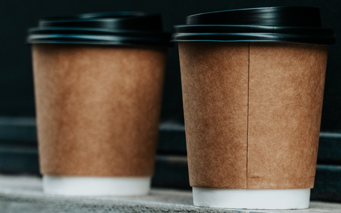 compostable PLA cups