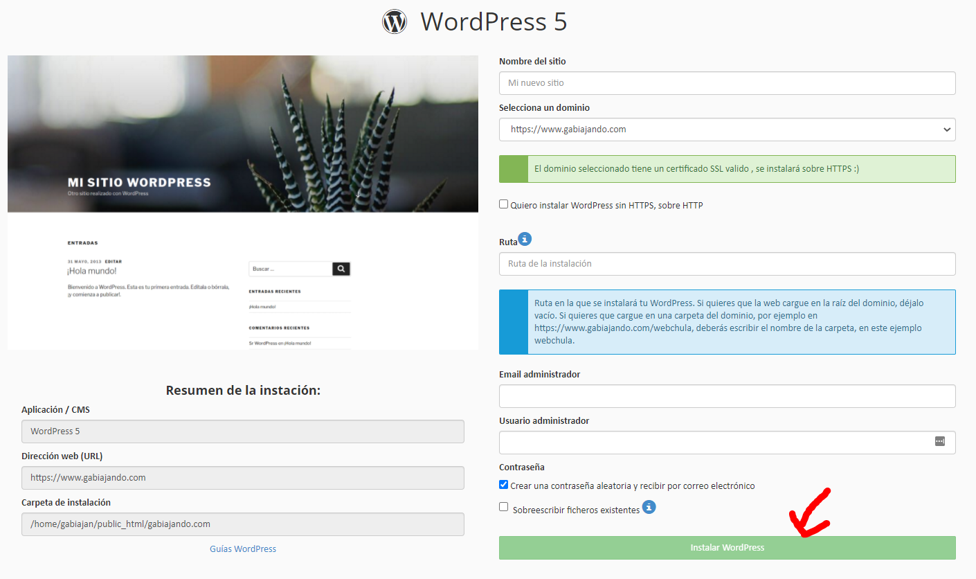 Wordpress para crear un blog de viajes paso a paso