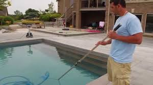 Image result for POOL brush used to clean a in pool + picutre of pool