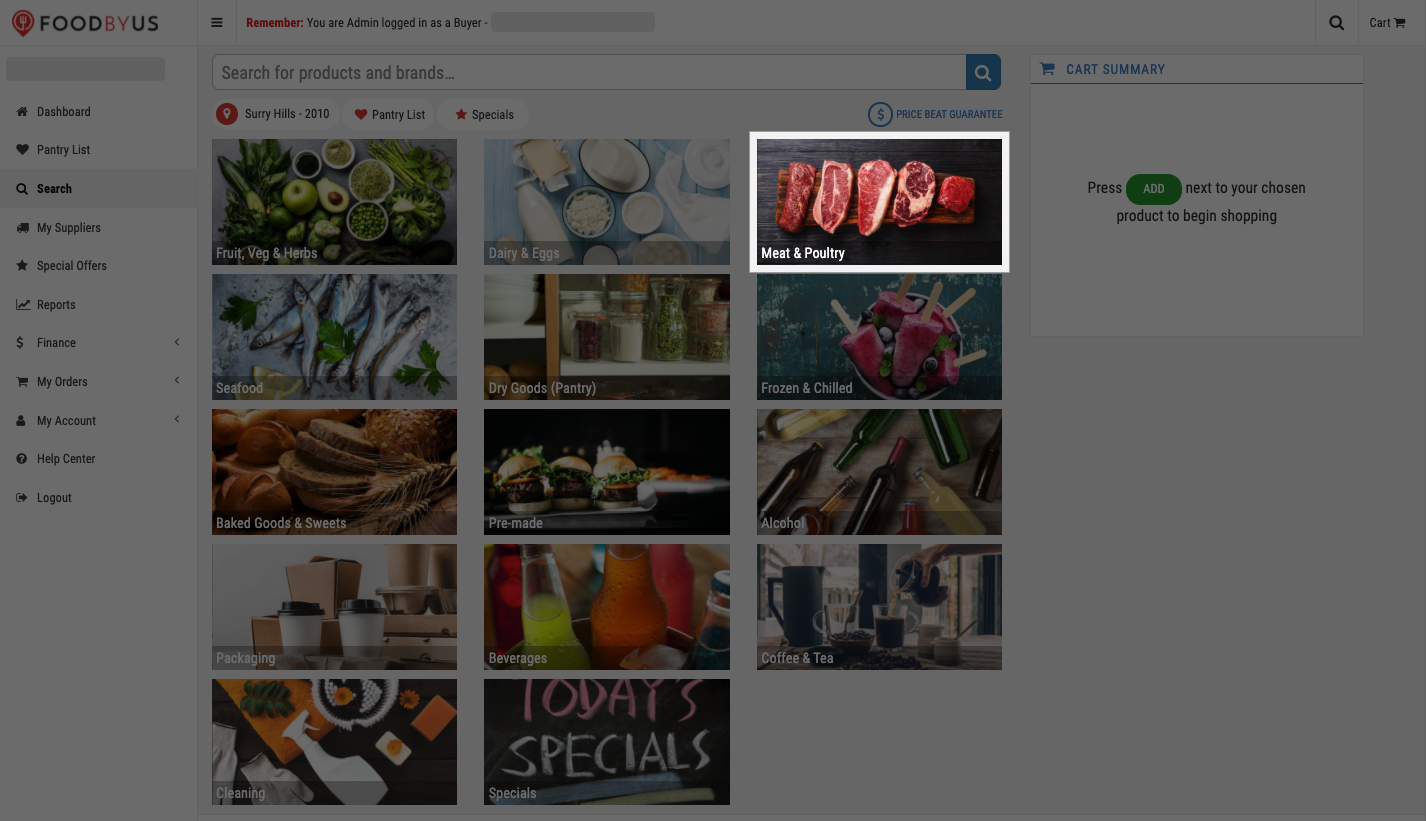 FoodByUs_dashboard_search_marketplace_choose_product_category