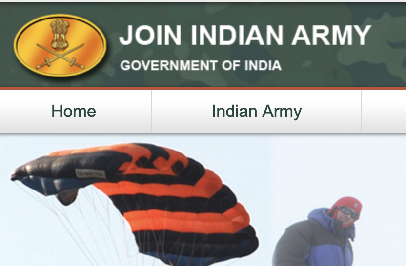 Join Indian Army Bharti