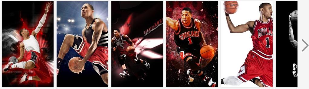 Chicago Bulls Derrick Rose Photo