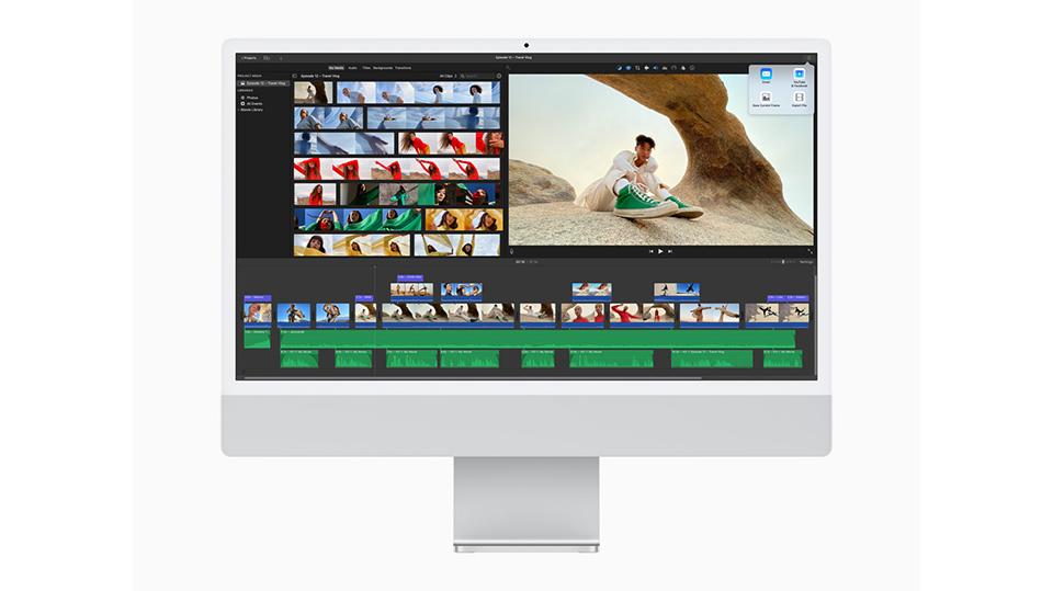 hiệu năng iMac M1 2021 24 inch Retina 4.5K