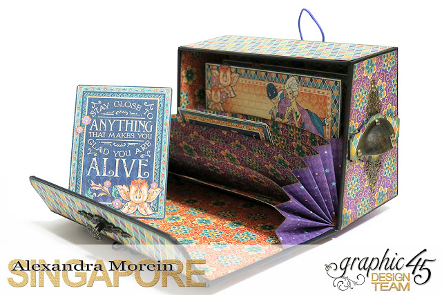 Midnight Masquerade Photo Storage Box, Tutorial by Alexandra Morein, Product by Graphic 45, Photo 8.jpg