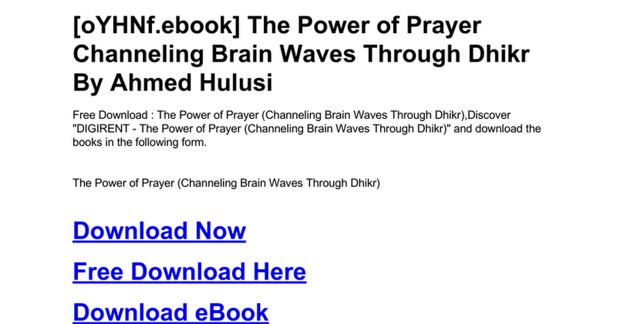 Unlock the secret to the power of prayer! Ifcj.