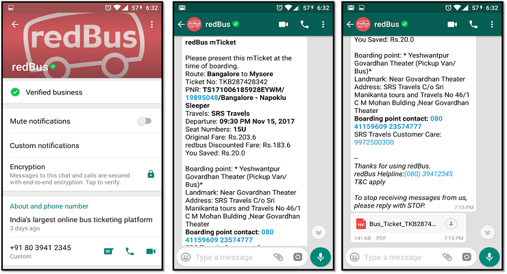 how to get verified badge on whatsapp business