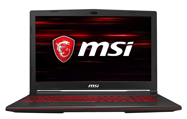 MSI Gaming GL63 9RCX-219IN Intel Corei5-9300H 9th Gen 15.6-inch Gaming Laptop