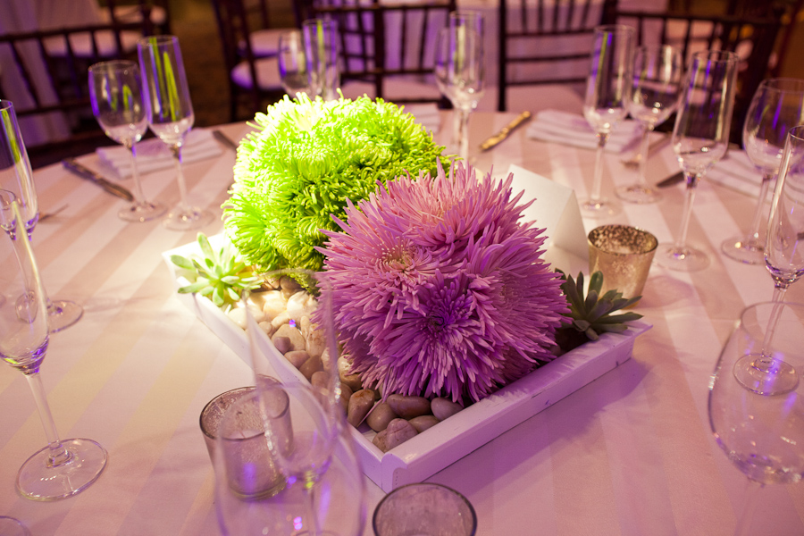 Felici Events Lime Green And Purple Decor Another Felici Event