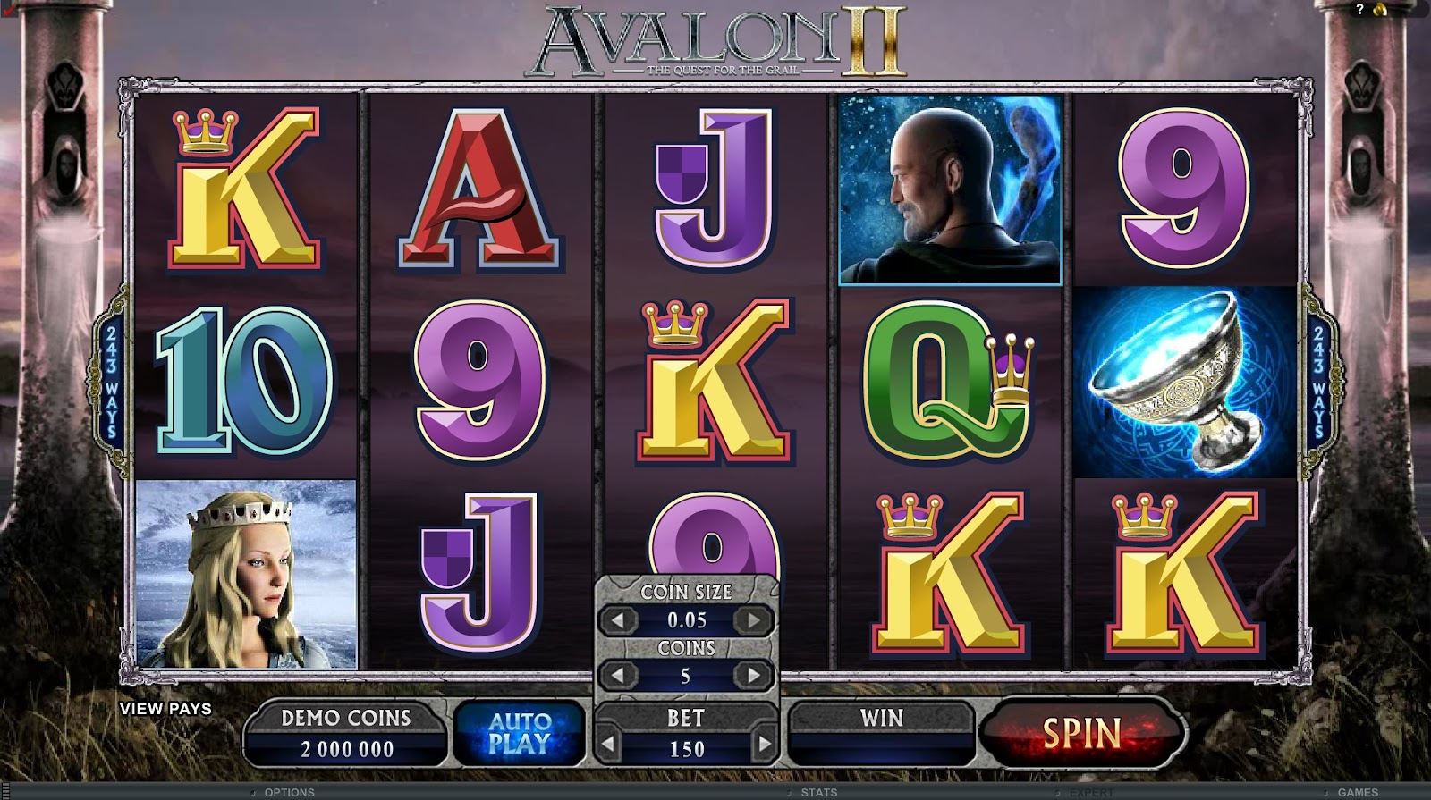 Avalon II Slots Game Review