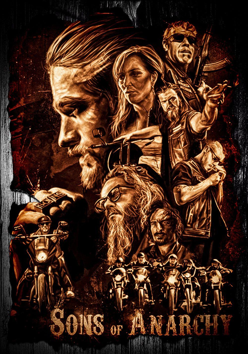 TV Detail - fanart.tv   Sons of anarchy, Sons of anarchy tattoos, Anarchy