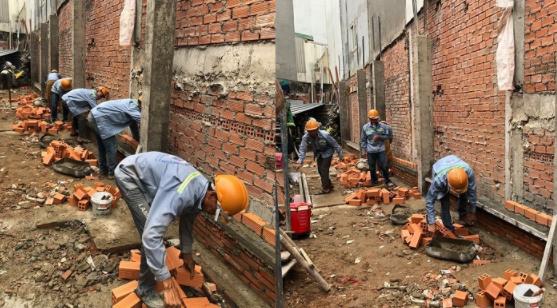 Quá trình tường nhà