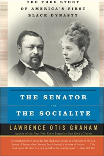 The cover of The Senator and The Socialite