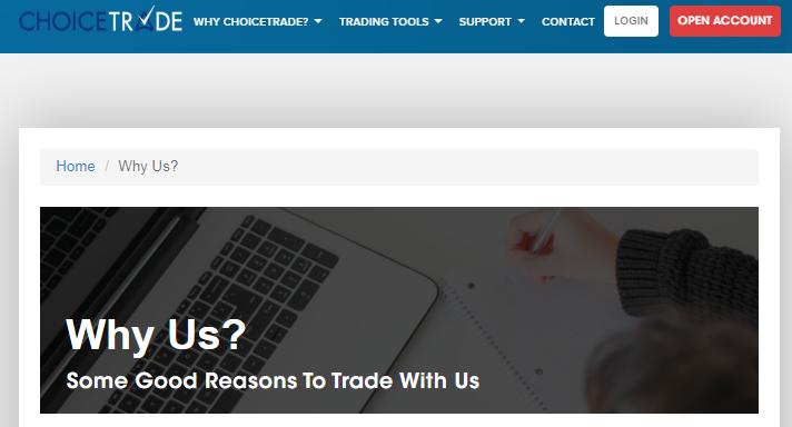 Обзор брокера бинарных опционов ChoiceTrade и отзывов клиентов