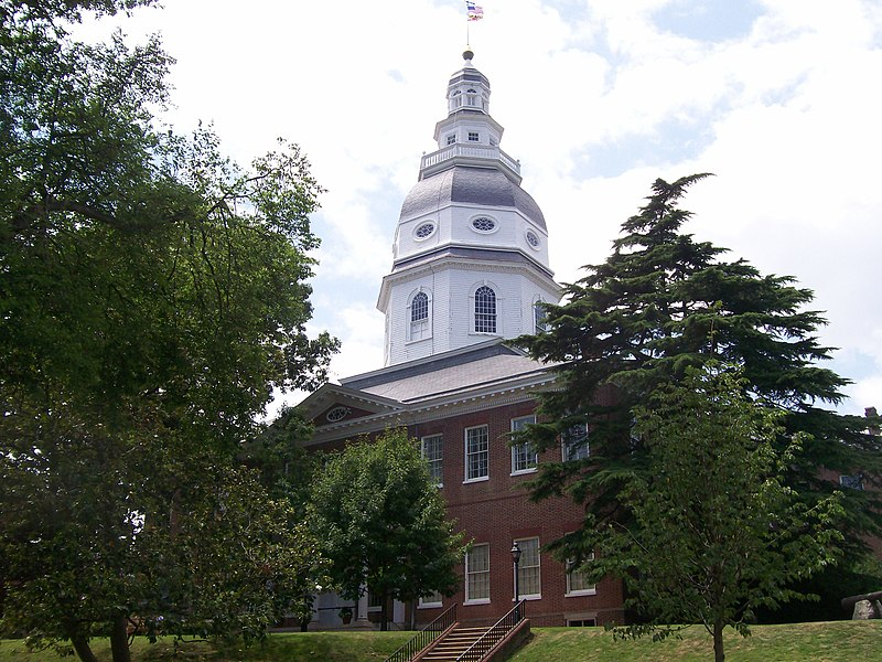 File:MarylandStateHouse (side).jpg