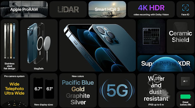 The fifth generation 5G network, the latest version of the iPhone