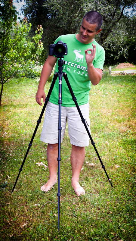 Use your photo tripod properly:
