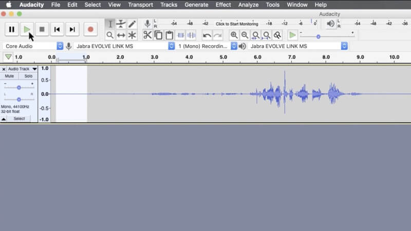 reduce audio noise audacity play