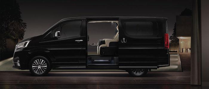 Toyota Majesty ถูกออกแบบให้มีความหรูหราเหนือระดับ