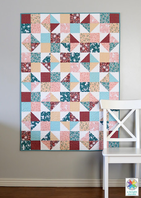 2. Four Patch Spin Quilt Pattern