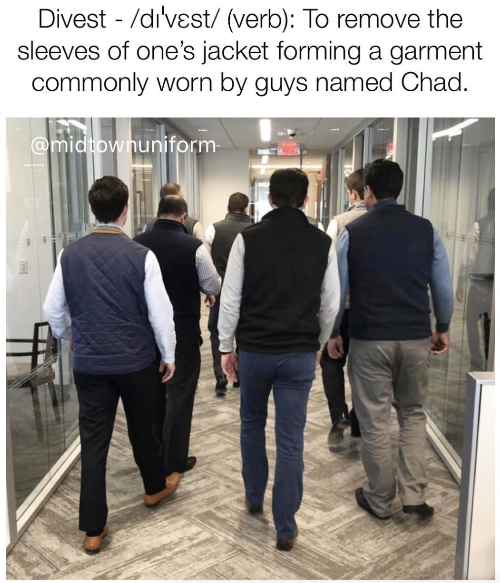 Chad in a Patagonia vest