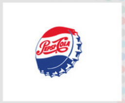 Pepsi logo evolution, 1950