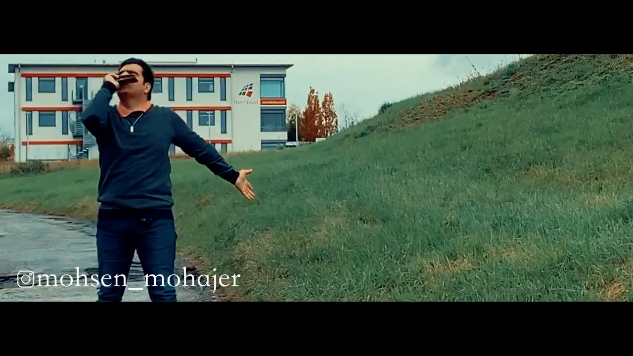 Je t'aime Harmonica Mohsen Mohajer سازدهنی محسن مهاجر