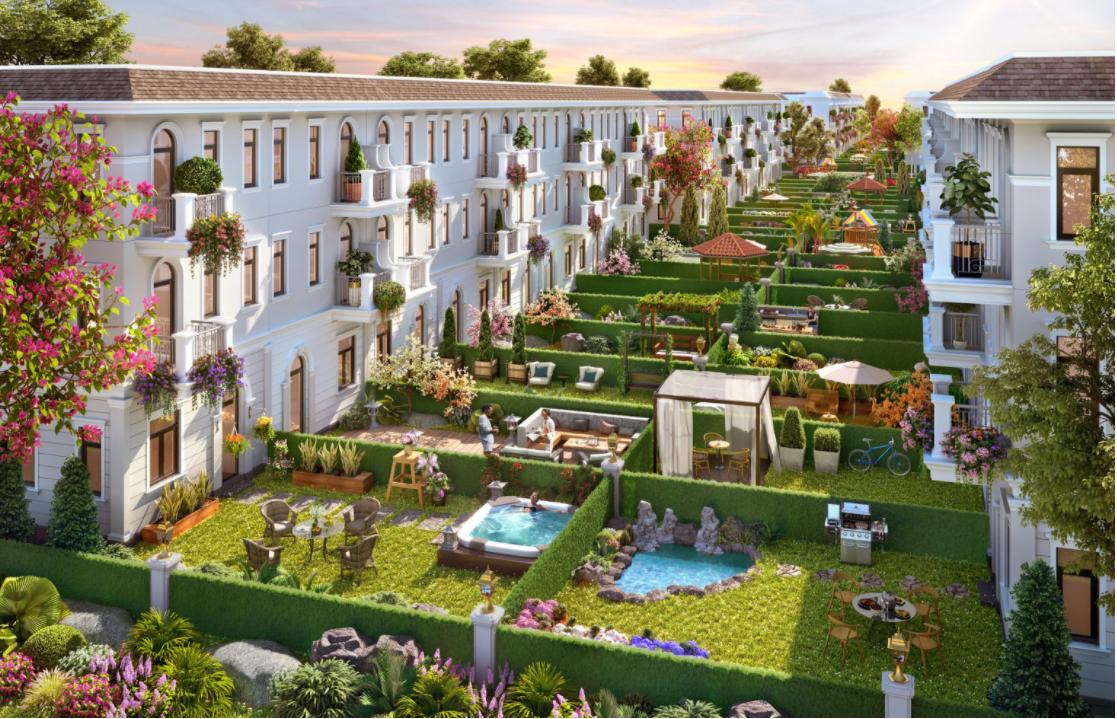 Aqua CIty với những căn nhà phố nghỉ dưỡng đẳng cấp