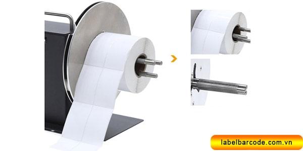 máy cuộn tem nhãn giá rẻ