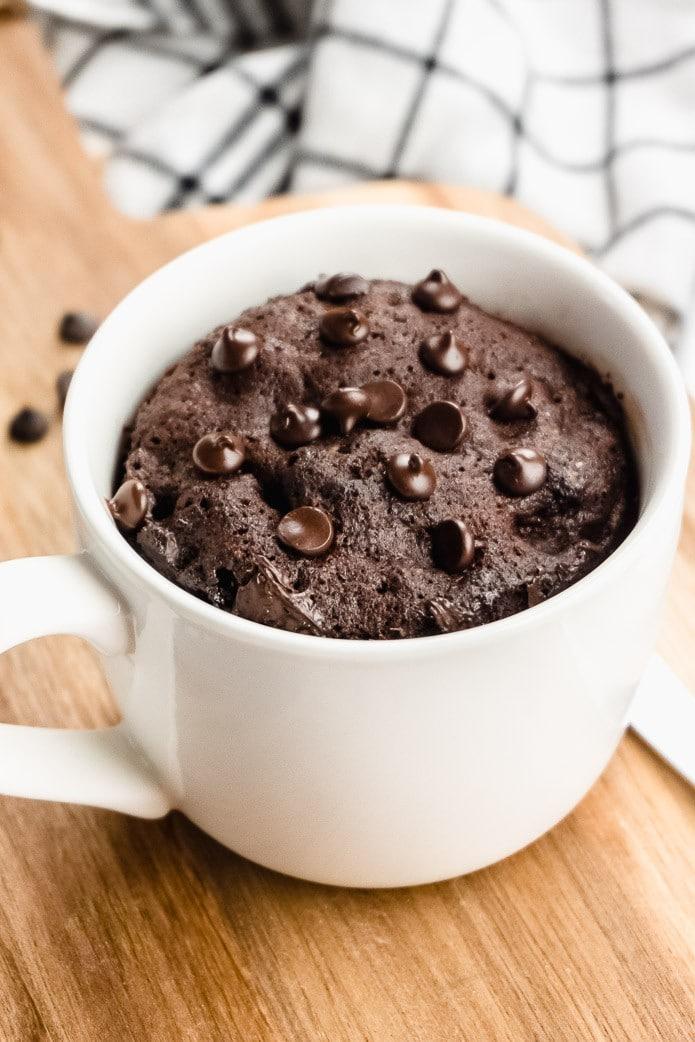 Dessert Recipes I The classic chocolate mug-cake