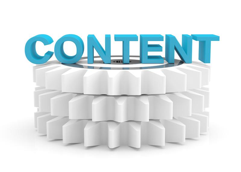Наполнение ресурса контентом
