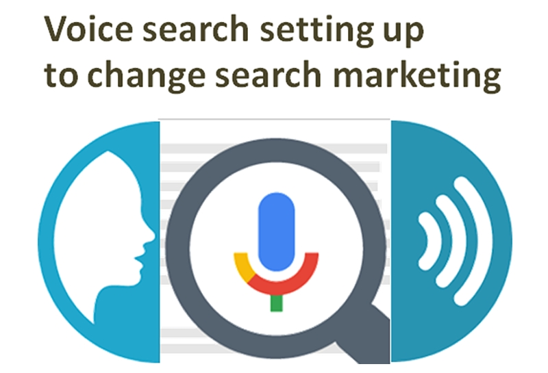voice search setting up to change search marketing