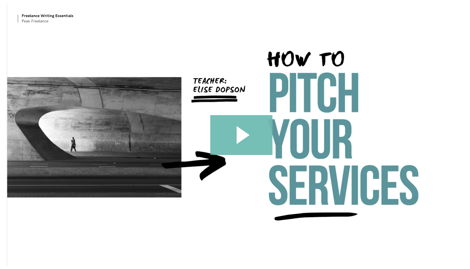 how to pitch your services video