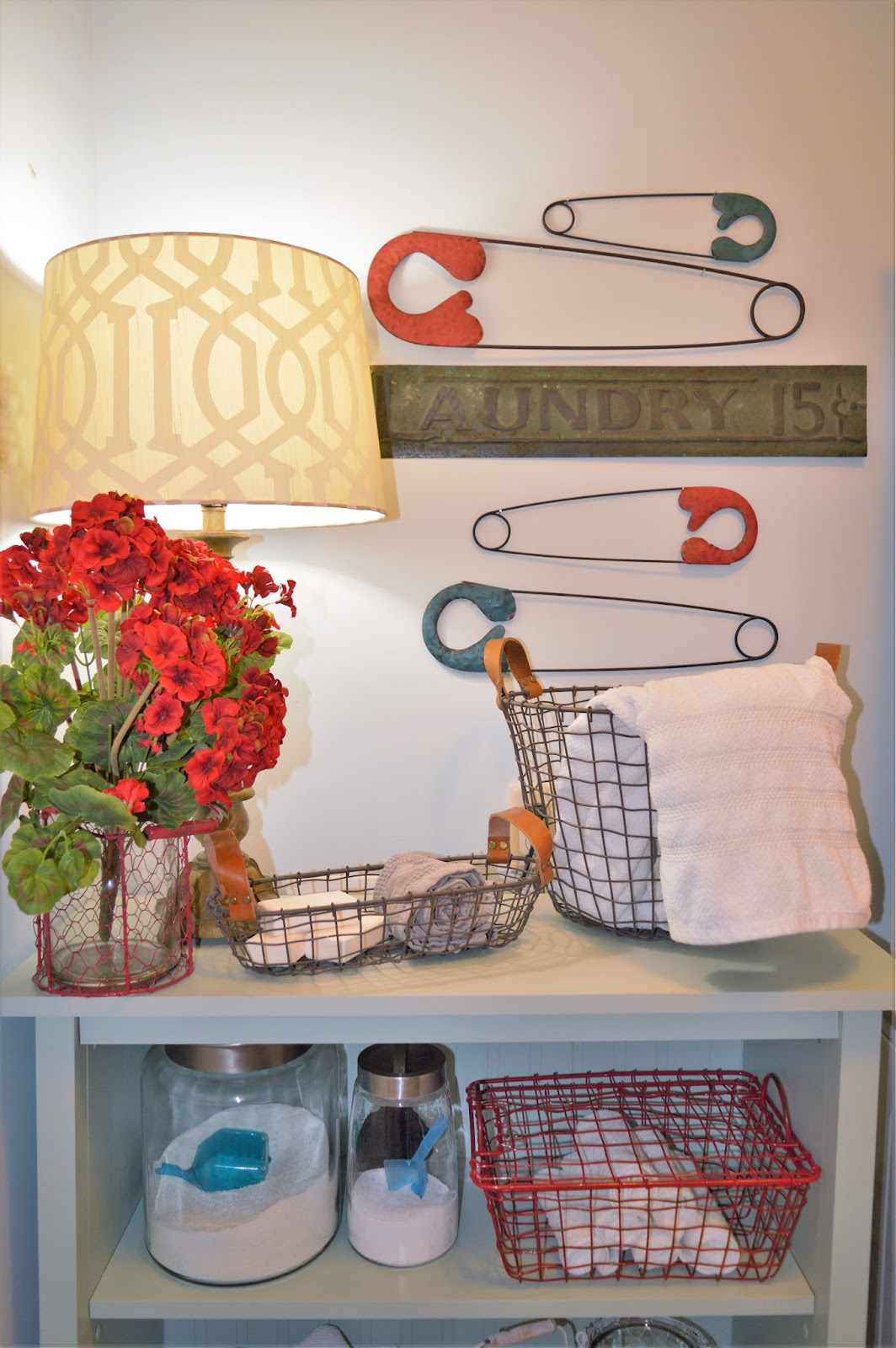 Nothing says laundry room decor more than our take on the vintage safety pins we have created these metal pins in 2 fun color finishes that really bring a