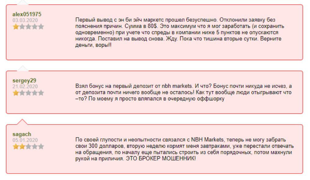 Обзор брокера-мошенника NBH Markets: обещания и реальность