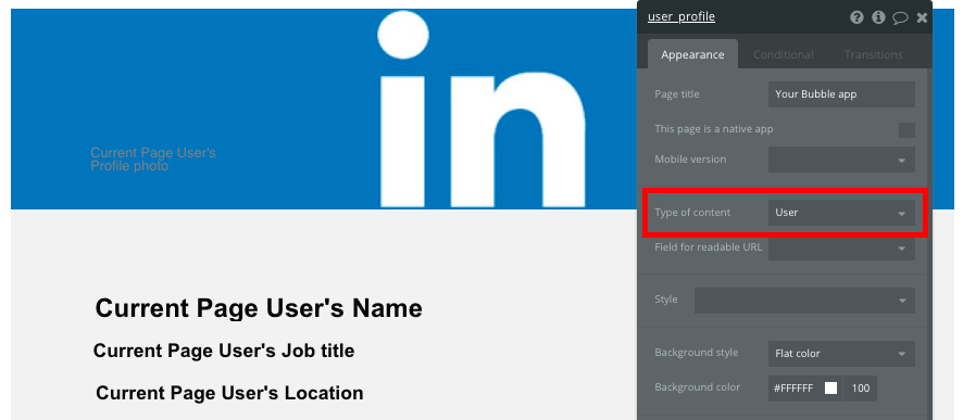 Bubble No Code LinkedIn Clone Walkthrough