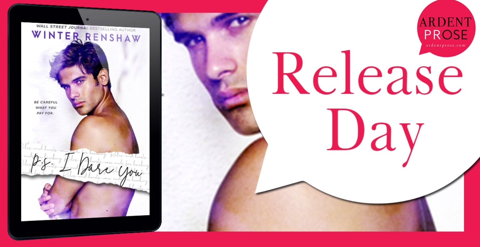 Release Blitz + My Book Review PS I DARE YOU by Winter Renshaw