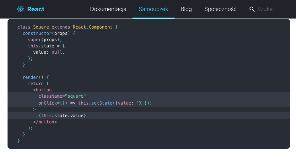 reactjs framework do ui